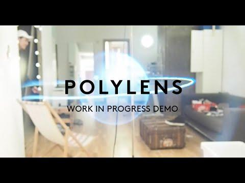 Polylens AR headset demo, Google Cardboard for Augmented Reality / DIY hololens