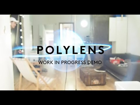 Polylens AR headset demo, Google Cardboard for Augmented Reality / DIY hololens