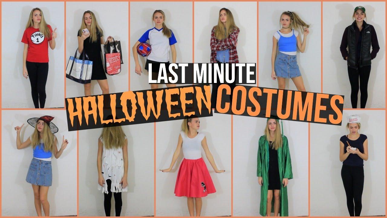 Diy Halloween Costumes For Girls Age 11 13.13 Last Minute Halloween Costume Ideas