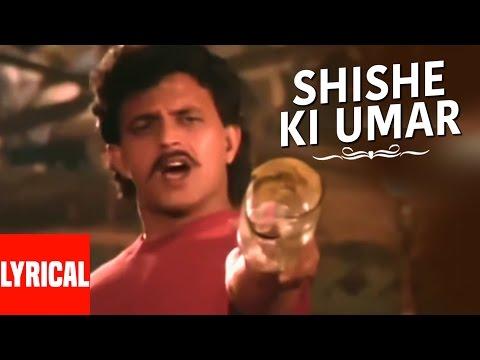 Shishe Ki Umar Lyrical   Prem Pratigyaa  Kishore Kumar  Mithun Chakraborty