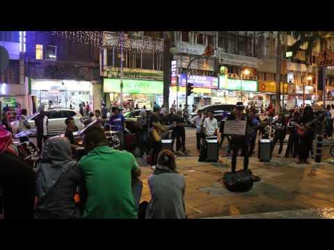 KL Kuala lumpur street live music MVI 4281
