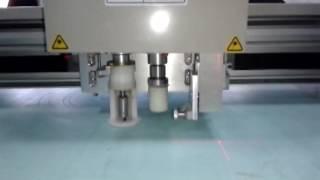 aokecut@163.com Professional manufacture Insulation cork rubber graphite gasket Cutters Machine