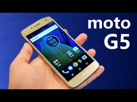 MOTO G5... ¿El Mejor GAMA MEDIA? En vídeo!