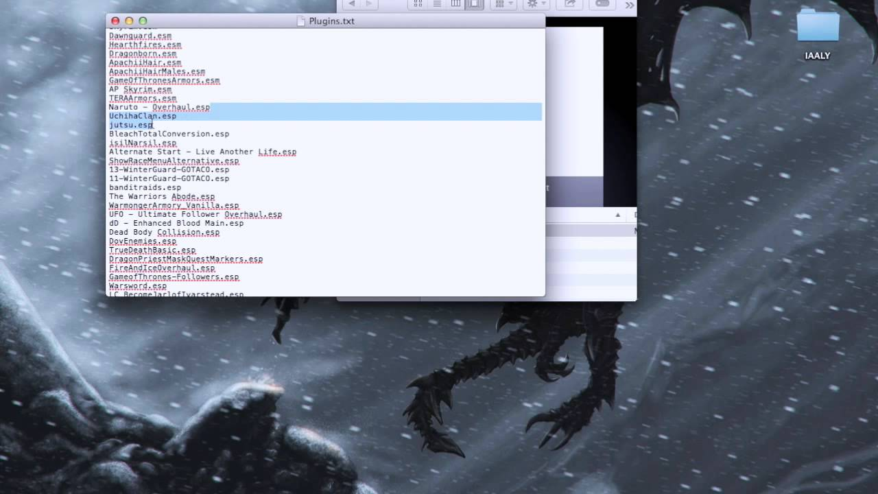 how to install mod skyrim mac