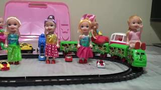 Trains for children, toy train videos - train for kids - chu chu train videos - train toy assemble