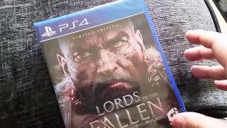 Lords of the Fallen Limited Edition Unboxing
