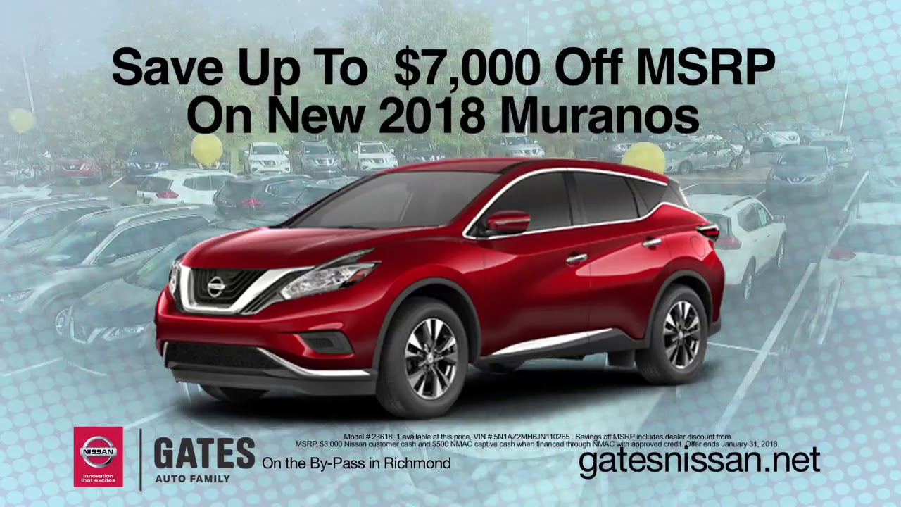 2018 Nissan Rogue   Gates Nissan In Richmond, KY