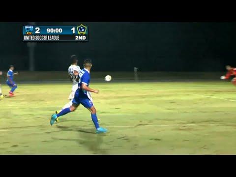 Gol de Christopher Ramirez ( Octavo gol de la temporada ) - OC Blues F.C. 2-1  LA Galaxy II