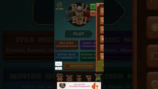 Roll the ball : push puzzle (lvl : 1 - 5 )