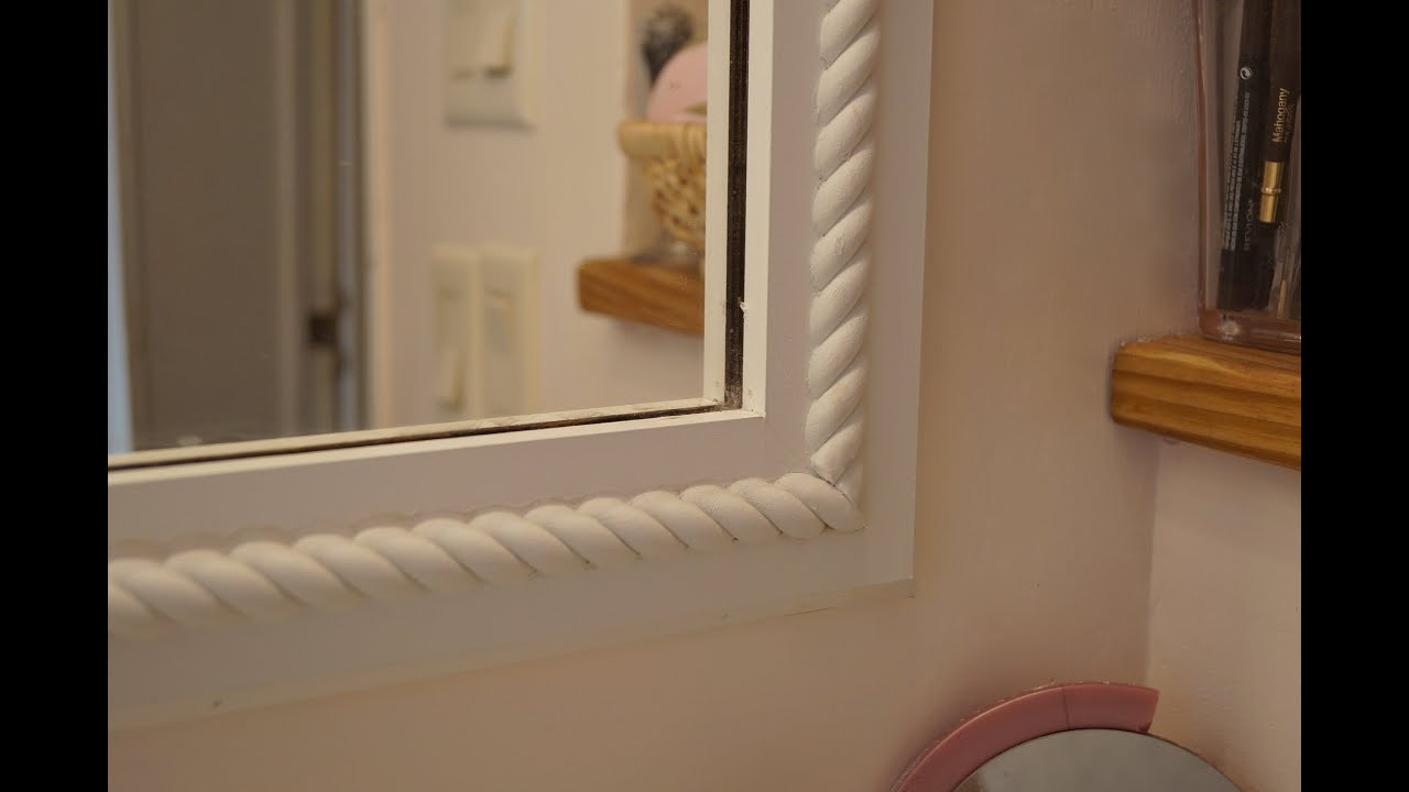 add trim to bathroom mirror adding decorative trim to frame 21890