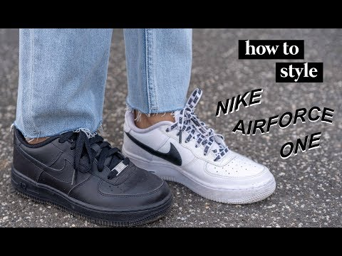 How to Style | Nike Airforce 1 Sneakers