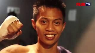 Download lagu #01. Madlani menang TKO ronde ke 2 lawan petarung muaythai asal Cambodia