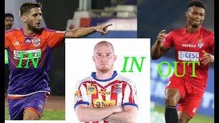ISL Season-5 | ATK & FC Pune City New Player