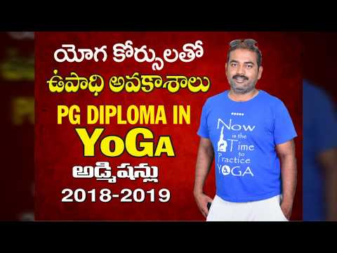 Yoga Job Opportunities & Yoga Courses Admissions 2018-19