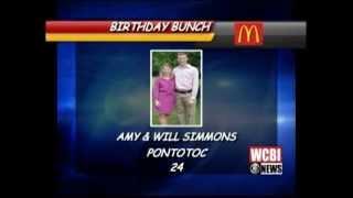 Twin Birthday Bunch ~ Nov 18