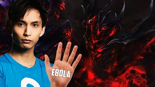 SHAKER HAS EBOLA HAND ◄ SingSing Moments Dota 2 Stream