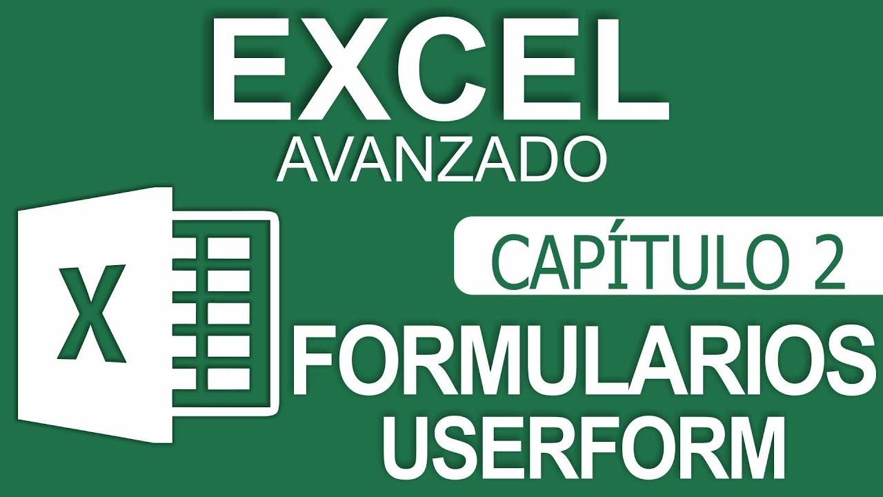 Curso Excel Avanzado – Capitulo 2 – Formulari… ✅✅✅