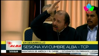 Presidente Comandante Daniel Ortega participa en XVI Cumbre del ALBA-TCP, en La Habana, Cuba
