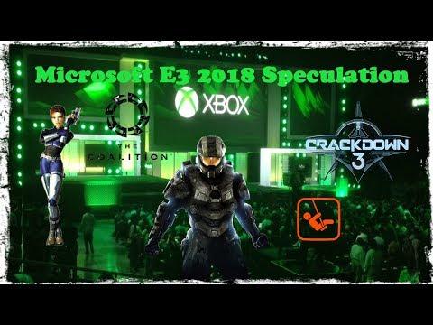 Microsoft E3 2018 Speculation