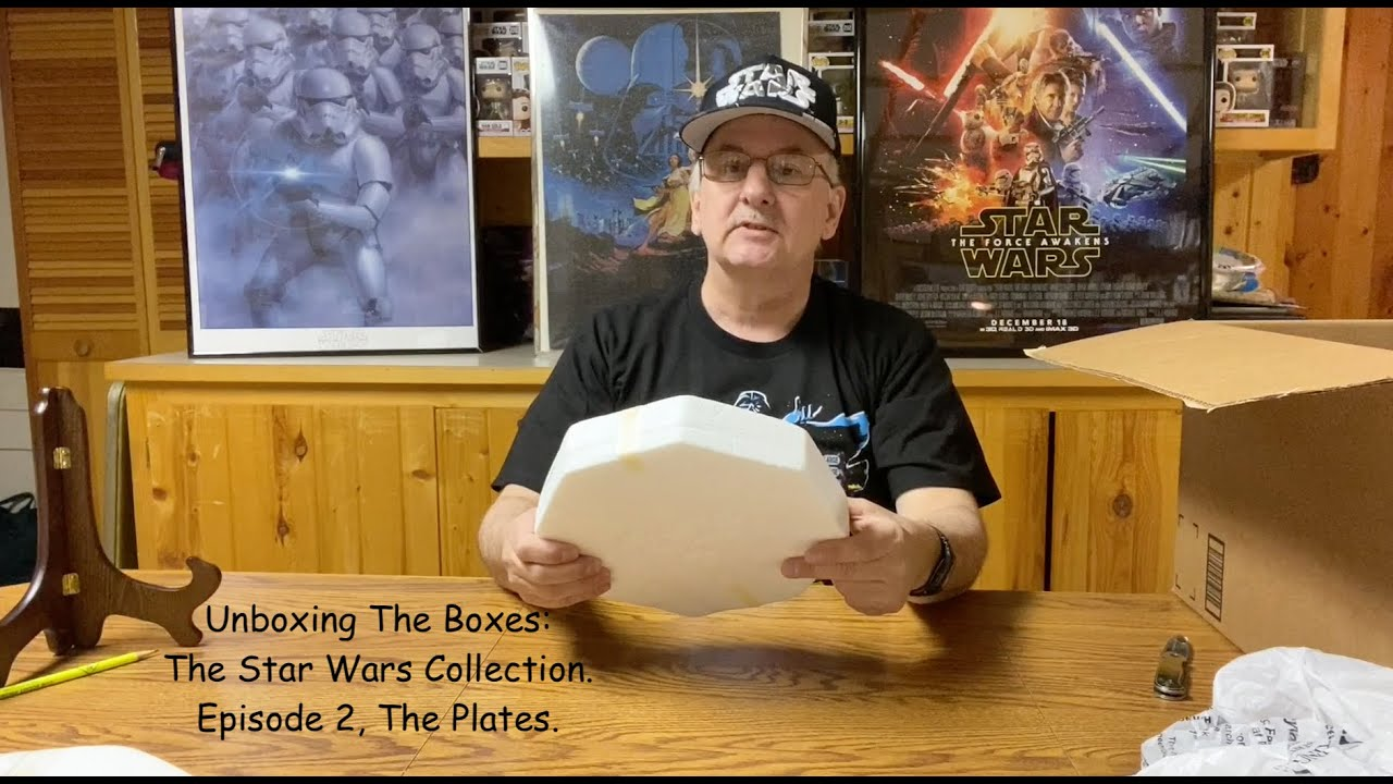 Unboxing The Boxes: The Star Wars Collection. Episode 2.