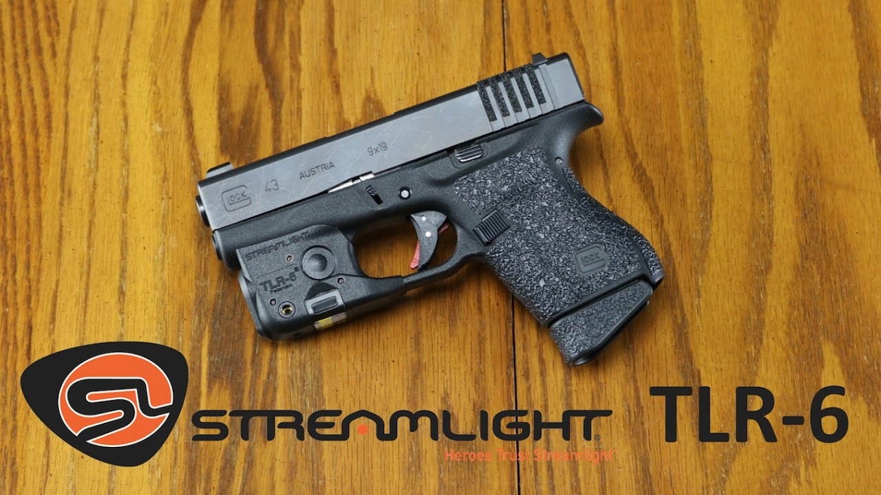 G43 Light Laser Streamlight Tlr 6 Review Youtube
