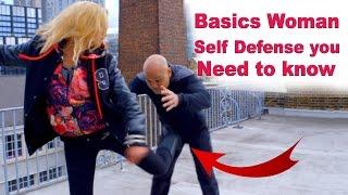 Basics Woman Self Defense you need to know – Wing Chun