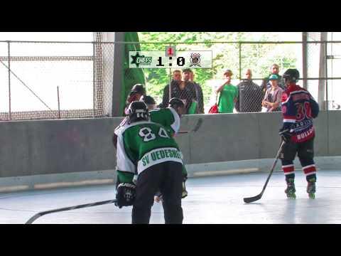 Inlineskatehockey Uedesheim Chiefs vs. Bockumer Bulldogs
