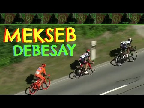 Eritrea - Mekseb Debesay Attacks in Last km - Tour de Suisse 2017 - Stage 2