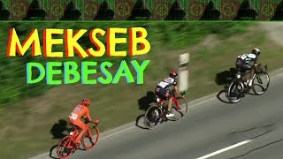 Eritrea - Mekseb Debesay Attacks in Last km - Tour de Suisse 2017 - Stage 2