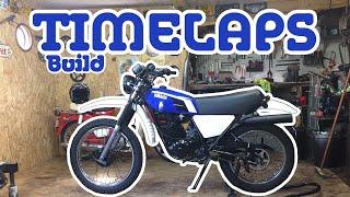 Yamaha DTMX Restauration timelapse