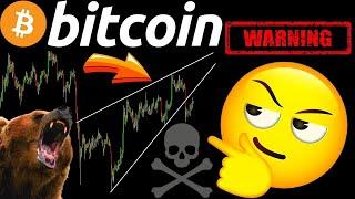 WARNING TO BITCOIN BULLS! LTC and ETH ALSO! Crypto BTC TA price prediction, analysis, news, trading