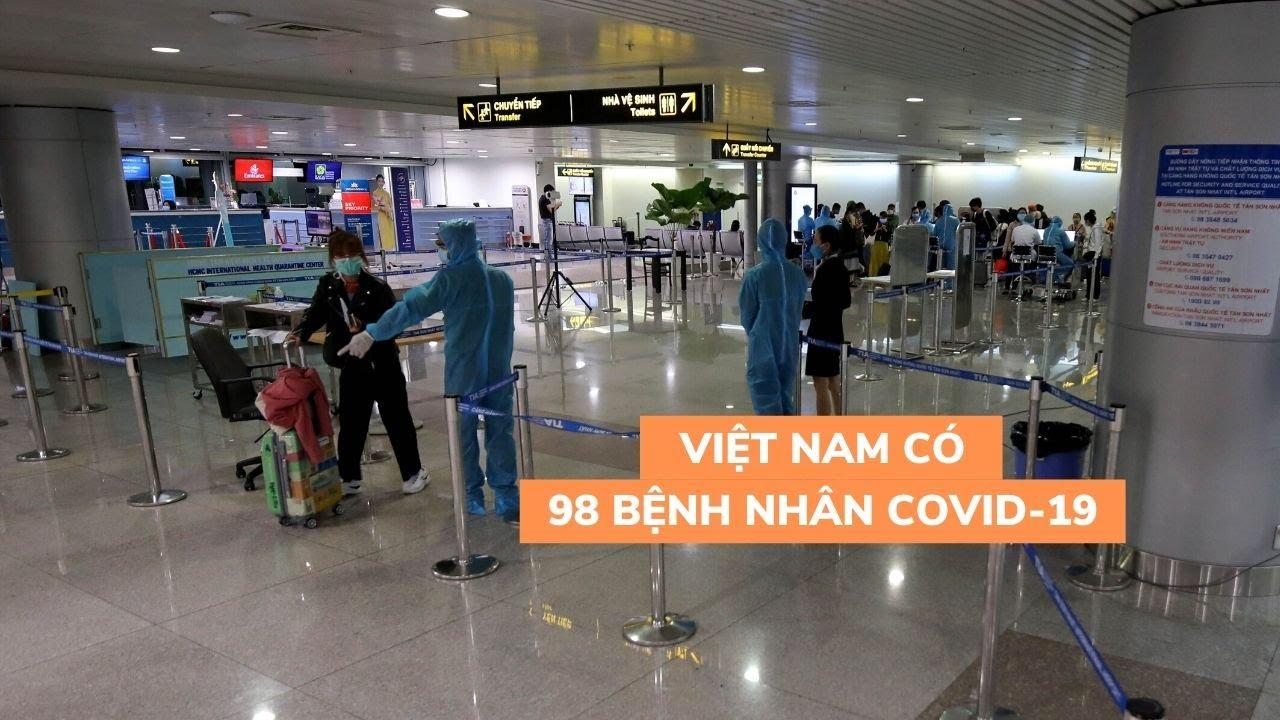TP.HCM công bố 4 ca mới, Việt Nam có 98 bệnh nhân nhiễm virus corona
