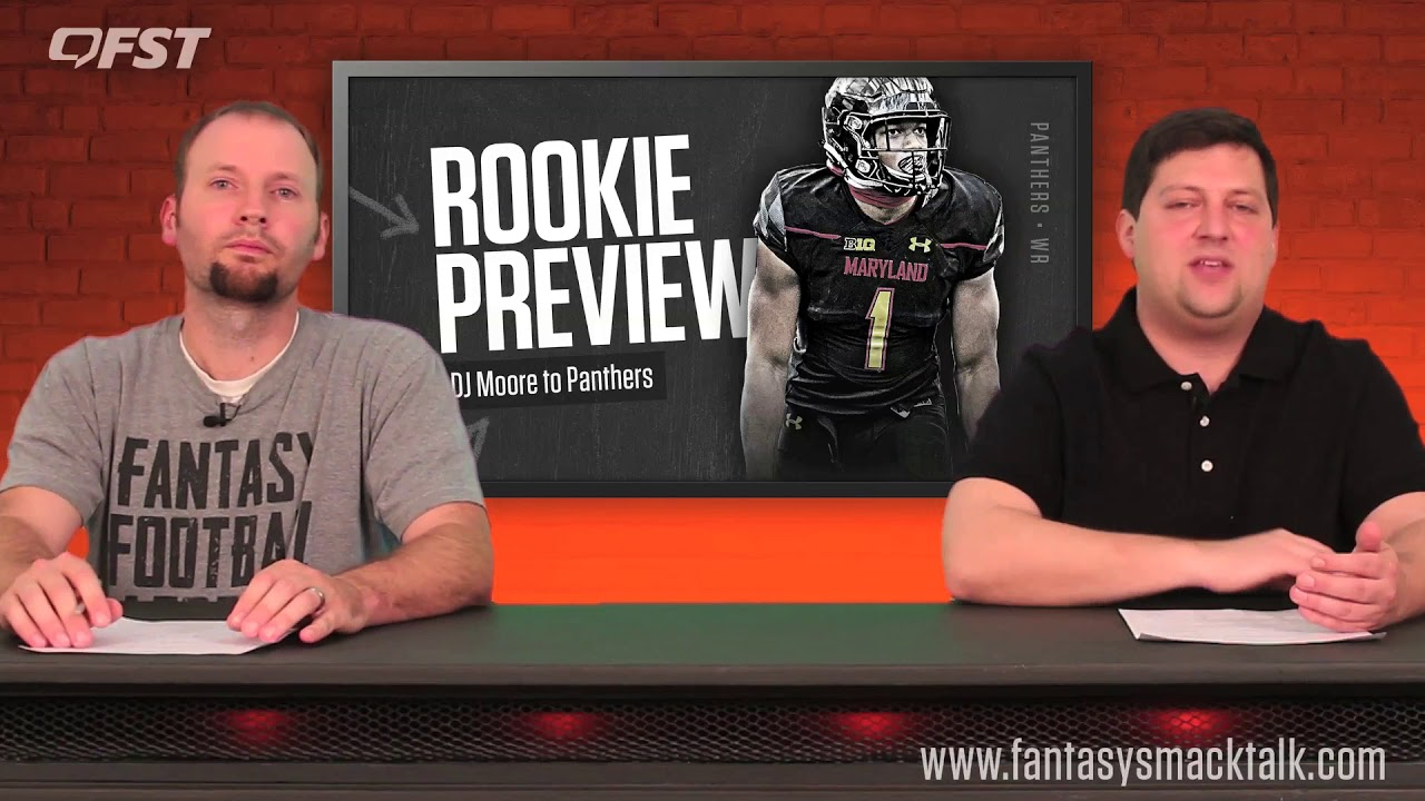 dd1c19a53 D.J. Moore Rookie Wide Receiver Preview - 2018 Fantasy Football ...