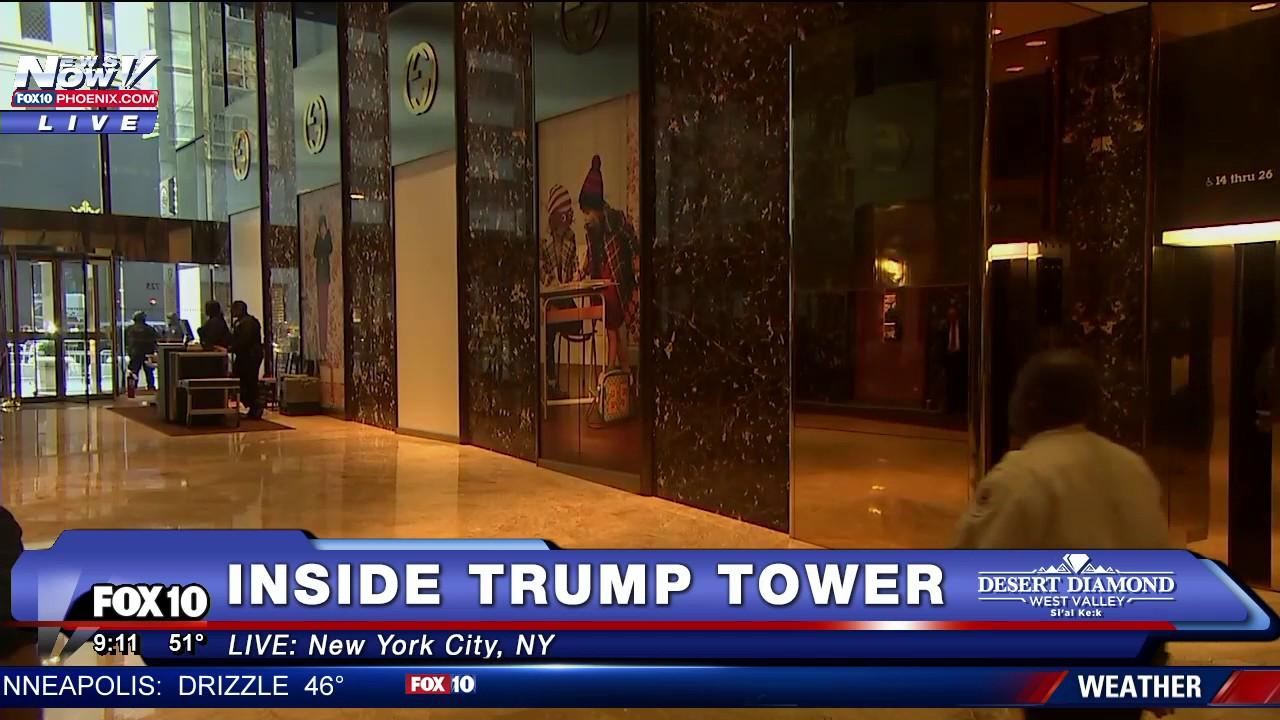FNN: Inside Trump Tower