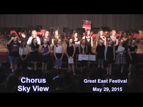 Leominster Sky View Chorus ...at Great East Festival 2015