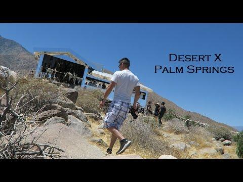 Desert X Mirror House Palm Springs Art Installation