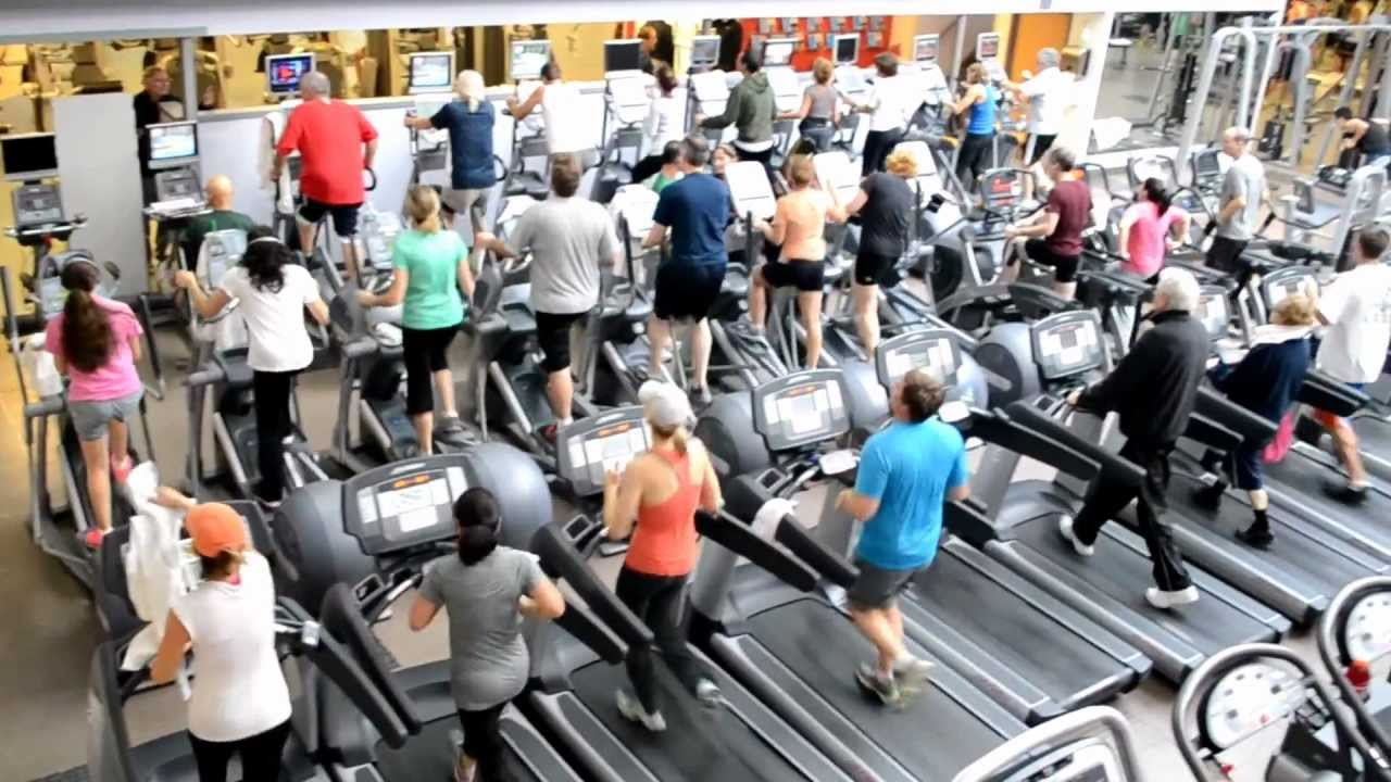Image result for crowded gym you tube