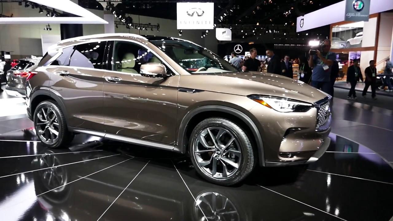 Luxury Vehicle: New 2018 Infiniti QX50 Luxury SUV