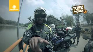 Ride for Peace: Road to Finish Jeffrey Polnaja-Bali to Jakarta (2015)