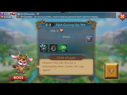 Lords Mobile 6-8 Normal