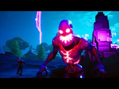 New CUBE MONSTER GAMEPLAY In Fortnite..