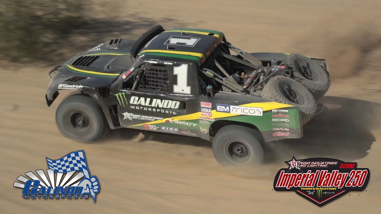 2015 SCORE IV250 - Trophy Truck #1 Race Highlights - YouTube
