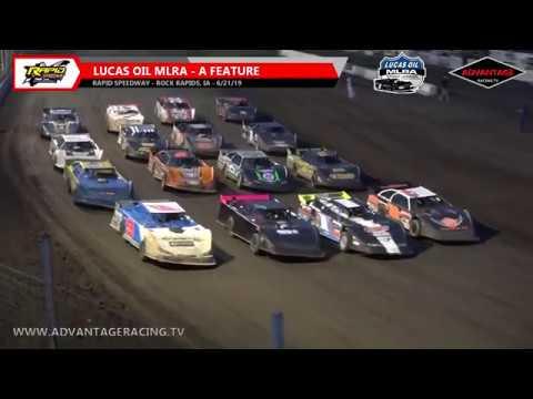 Lucas Oil MLRA Feature - Rapid Speedway - 6/21/19