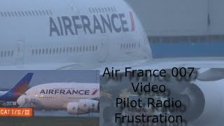 Air France Flight 7 Diverted Manchester Airport, Med Emergency after with ATC A380