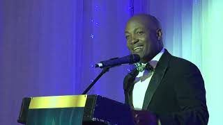 Brian Lara Speaks at Saint Lucia Prime Minister's Independence Ball 2018