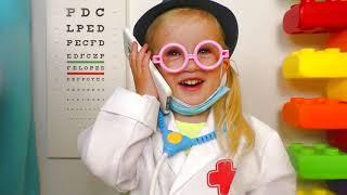 У мисс Полли была Долли | Miss Polly had a Dolly Song | Песни для детей от Кати и Димы