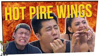 Ultimate Hot Wing Challenge | We Try The Scorpion Rum Hot Wing!