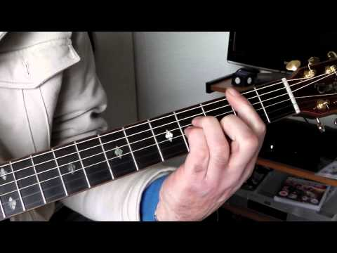 Play 'Bitter Creek' by The Eagles. Guitar chords.