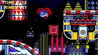 [TAS] Sonic 3 & Knuckles - Sonic + Tails Ring-attack - Carnival Night ACT 1 Improved [Wip 36]