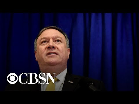 Secretary of State Mike Pompeo ends Treaty of Amity with Iran